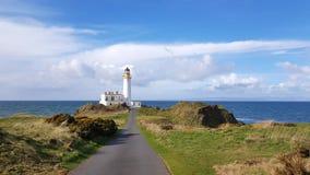 Faro di Turnberry in Scozia fotografia stock libera da diritti