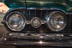Faro di un'automobile 100% Oldsmobile 88 eccellenti, 1959 Fotografie Stock Libere da Diritti
