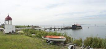 Faro di Volendam Fotografia Stock