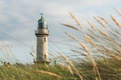 Faro di Warnemunde Immagine Stock Libera da Diritti