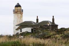 Faro in disuso Scozia Fotografia Stock Libera da Diritti