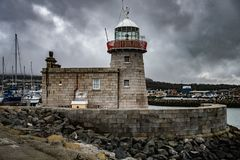 Faro Dublin Ireland de Howth imagenes de archivo