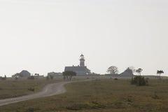 Faro durante summer.JH imagenes de archivo