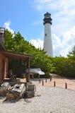 Faro e cottage del faro immagini stock