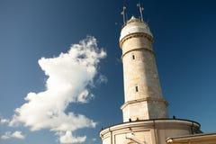 Faro e nube Immagine Stock Libera da Diritti