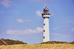Faro Egmond Zee aan, Países Bajos fotografía de archivo libre de regalías