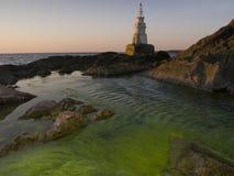 Faro en Ahtopol Fotografía de archivo libre de regalías