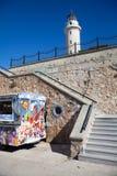 Faro en Alexandroupolis - Grecia Imágenes de archivo libres de regalías