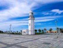 Faro en Batumi Imagen de archivo libre de regalías