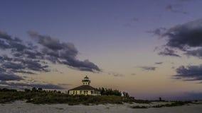 Faro en Boca Grande, la Florida imagenes de archivo