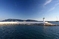 Faro en Bodrum Fotografía de archivo