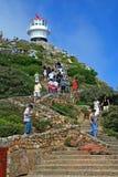 Faro en Cabo de Buena Esperanza Imágenes de archivo libres de regalías