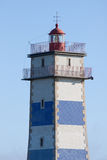 Faro en Cascais, Portugal de Santa Marta Imagen de archivo