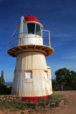 Faro en Cooktown Imagenes de archivo