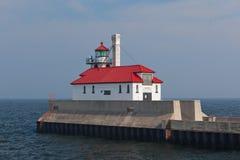 Faro en Duluth, Minnesota Foto de archivo libre de regalías