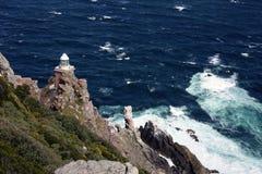 Faro en el Cabo de Buena Esperanza Fotografía de archivo