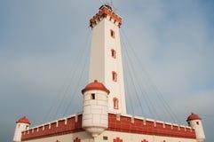 Faro en el La Serena foto de archivo