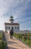 Faro en el Point Loma, San Diego, Californai Fotos de archivo libres de regalías