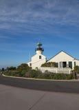 Faro en el Point Loma, vista lateral Foto de archivo libre de regalías