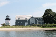Faro en Hyannisport, Massachusetts Imágenes de archivo libres de regalías
