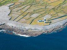 Faro en Inisheer Fotografía de archivo libre de regalías