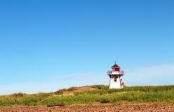 Faro en Isla del Principe Eduardo imagen de archivo libre de regalías