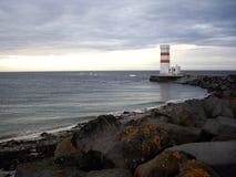 Faro en Islandia Fotografía de archivo libre de regalías