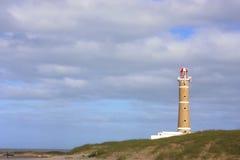 Faro en Jose Ignacio Imagen de archivo