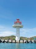 Faro en la isla de Srichang Imagen de archivo