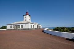 Faro en la isla del pico - Azores Imágenes de archivo libres de regalías