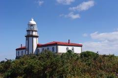 Faro en la isla Ons Fotos de archivo libres de regalías