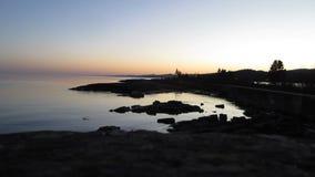 Faro en la puesta del sol metrajes