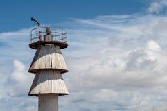 Faro en las nubes Imagen de archivo libre de regalías