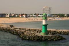 Faro en Rostock /Germany/ Fotos de archivo