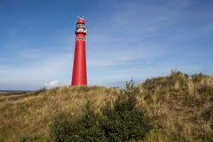 Faro en Schiermonnikoog Imágenes de archivo libres de regalías