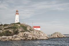 Faro en Vancouver del oeste, Columbia Británica, Canadá Fotografía de archivo