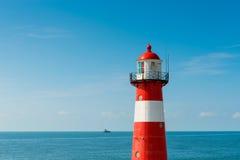 Faro en Westkapelle Países Bajos Fotografía de archivo