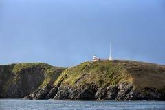 Faro famoso en el cabo de Hornos Imagen de archivo libre de regalías