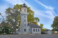 Faro forte di Niagara Immagini Stock Libere da Diritti