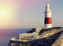 Faro Gibraltar Fotos de archivo