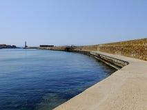 Faro in Grecia Fotografie Stock Libere da Diritti