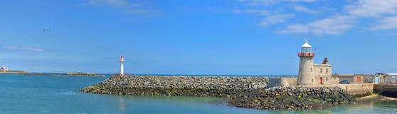 Faro in Howth fotografia stock