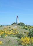 Faro, isla de Hiddensee, Alemania Imagen de archivo libre de regalías