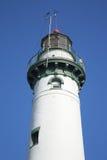 Faro - isla de Presque, Michigan Imagenes de archivo