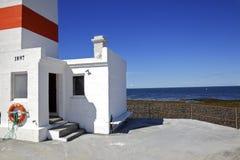 Faro islandés en el verano Foto de archivo