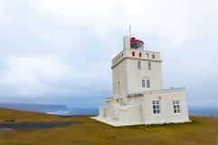 Faro in Islanda Immagini Stock