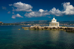 Faro in Kefalonia Immagini Stock Libere da Diritti