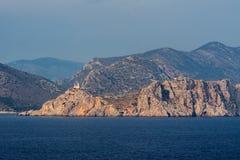Faro Kos Grecia Fotografie Stock Libere da Diritti