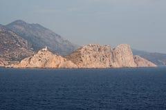 Faro Kos Grecia Immagini Stock Libere da Diritti