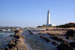 Faro, La Paloma, Uruguay Imágenes de archivo libres de regalías